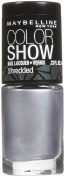Maybelline Colour Show Nail Colour, Silver Stunner, 5ml