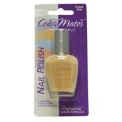 ColorMates Nail Polish, French Pink, 15ml