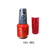 Mia Secret Crackle Nail Polish Red 15ml