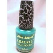 Mia Secret Crackel Nail Polish Pastel Blue