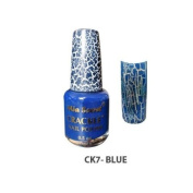 Mia Secret Crackle Nail Polish Blue 15ml