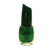 Santee Nail Polish M92 Emerald Green Glitter