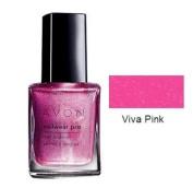 Avon Nailwear Pro Nail Enamel Polish Viva Pink