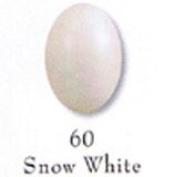Mirage Nail Polish Snow-white. 60