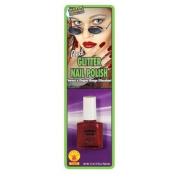 Red Glitter Nail Polish