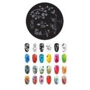 Konad Stamping Nail Art Image Plate - M66