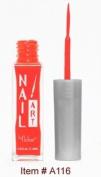 Nubar Nail Art Striper - Neon Red
