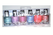6 Fingernail Polish Mini's Fun Chromes By Bon Bons Great Nail Polish