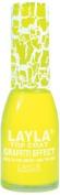 Layla Cosmetics Graffiti Top Coat N.19 Yellow Shock Nail Polish