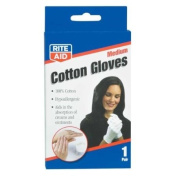 Rite Aid Cotton Gloves, 1 ea