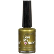 Love My Nails Chrome Chartreuse Shimmer 1564