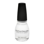 Sinful Colours Professional Nail Polish Enamel 101 Snow Me White