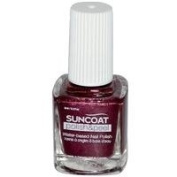 Suncoat Products Polish & Peel Nail Polish Mulberry - 8 Ml, 2 Pack