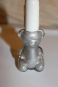 FING'RS - NAIL POLISH - BEAR GLASS BOTTLE - SILVER FROST #12
