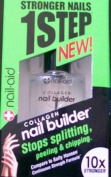 Nail-aid / 10x Stronger - 1 Step Collagen Nail Builder for Stronger Nails - New