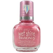 Maybelline Wet Shine Diamonds Nail Colour 480 Luminous Lilac
