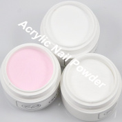 350BUY Clear White Pink Acrylic Powder Builder for Nail Art Manicure High Quality