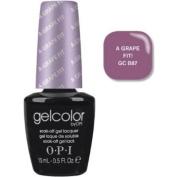 OPI Gelcolor Nail Polish, GCB87 a Grape Fit, 0.5 Fluid Ounce
