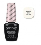 OPI Gelcolor Nail Polish, Gcs86 Bubble Bath, 0.5 Fluid Ounce