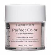 Creative Nail Perfect Colour Powder False Nails, Intense Pink, 25ml