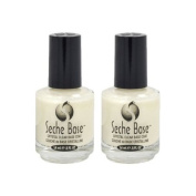 Lot 2 Seche Base Vite Ridge Filling Filler Coat Fill Foundation Polish Salon