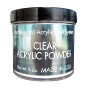 Clear Acrylic Powder 240ml