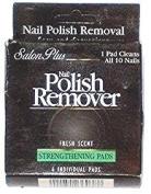 Salon Plus Nail Polish Remover/Strengthening Pads