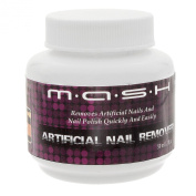 MASH Artificial Nail Remover Brush and Polish Cleaner Soak