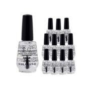 Lot 12 Poshe 15ml Super Fast Drying Top Coat Nail Polish Salon Manicure DRY