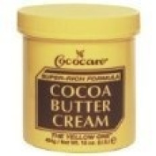 Cococare Super Rich Formula Cocoa Butter Cream (The Yellow One) 2 Pack , 120ml Each