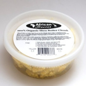 African Secret 100% Organic Shea Butter Chunk White