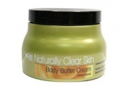 BioCare Labs Naturally Clear Skin Body Butter Cream, 8 fl oz., 236ml