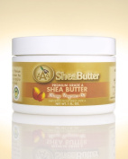 100% Unrefined Certified Grade A Shea Butter with a Hint of Mango Fragrance Oil 30ml By AAA Shea Butter