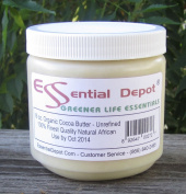 Organic Cocoa Butter - Unrefined - 470ml