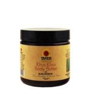 Tropic Isle Living Jamaican Khus Khus Body Butter with Black Castor Oil 120ml
