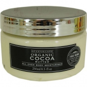 Greenscape Organic COCOA BUTTER Natural All Over Body Moisturiser 250ml
