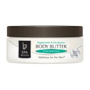 Bon Vital Body Butter Finishing, Peppermint & Eucalyptus, 240ml Jar