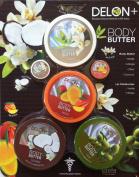 Delon Body Butter Variety Set with Lip Moisturiser