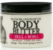 Plum Island Body Butter, Bella Rosa