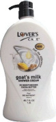 Lover's care goat's milk shower cream 40.7 oz (1200ml) -Cocoa Butter plus Bio Nutrient