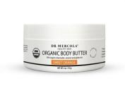 USDA Certified Organic Natural Body Butter - Orange