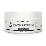 USDA Certified Organic Natural Body Butter - Unscented