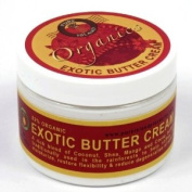 Pure Island Organic Exotic Body Butter Cream (Leaves Your Skin Feeling Silky Smooth, Moisturised and Healthy) - 300ml