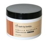 Bath By Bettijo Whipped Shea Butter, Vanilla Mandarin, 240ml Jar