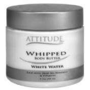 Attitude Whipped Body Butter - White Water - 180ml