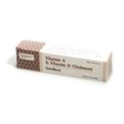 Fougera Vitamin A & D Ointment 1 x 120ml Tube