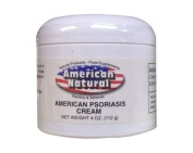 American Natural Psoriasis Support Cream 120ml Skin Care Soothes Dry Skin