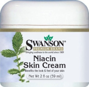 Niacin Skin Cream, 96% Natural 2 fl oz (59 ml) Cream