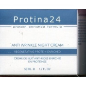Anti Wrinkle Night Cream, Regenerating Protein Enriched
