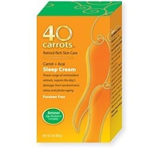 Carrots Retinol Rich Skin Care Carrot Acai Sleep Cream